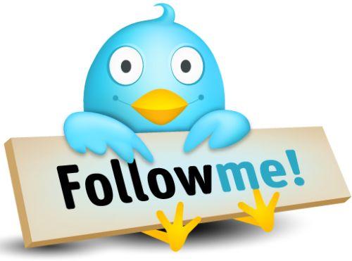 Twitter followme