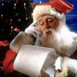 Santa y el primer año regalando con smartphone.
