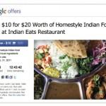 Google Offers, el nuevo producto de Google en ofertas online.