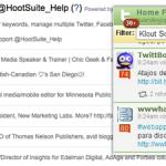 HootSuite para mejorar las comunicaciones en las redes sociales.