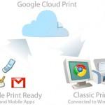 Imprimir en las nubes con Google Cloud Print.