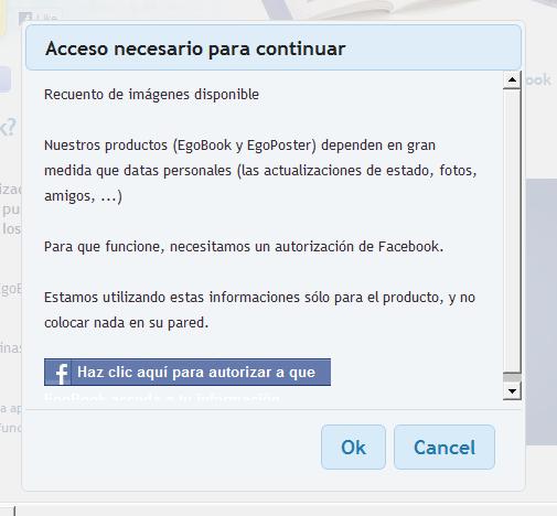 el egobook de facebook