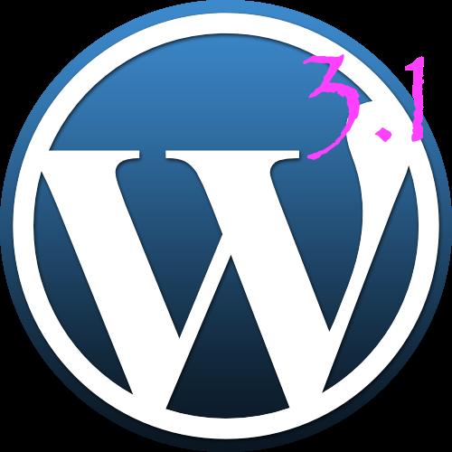 wordpress-3.1, una antes y un despues del  popular CMS