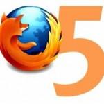 Firefox 5, nueva versión con mejoras para mantener la preferencia.