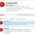 Twitter promociona #longreads adicional a los 140 caracteres