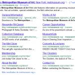 Sitelinks es mejorado y ampliado por Google.