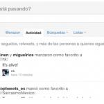 Twitter mejora funciones y contenido con la pestaña Actividad y @usuario.