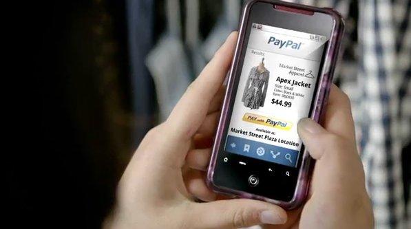 Paypal-movil tiendas fisicas