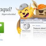 Mozilla presenta Firefox 8 con Twitter incorporado.