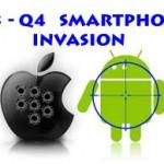 Los smartphones invaden el mercado de dispositivos móviles.