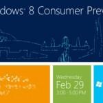 Microsoft presentará Windows 8 Beta en Barcelona el 29 de Febrero