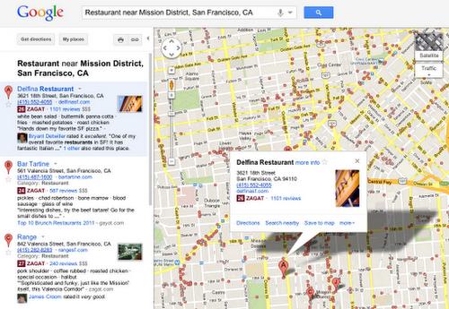 Google Plus Local desde Google Maps