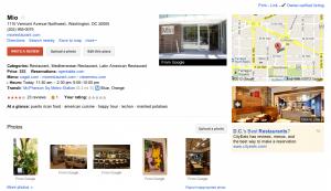 google places antes