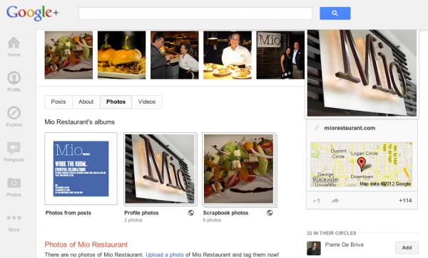 google places despues en google plus local