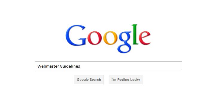 Webmaster-Guidelines