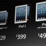 Apple presentó su nuevo producto iPad Mini obligado por las tendencias del mercado