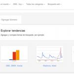 Google Trends como herramienta en el posicionamiento SEO