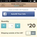 Facebook se lanza al Social commerce con Facebook Auto Fill