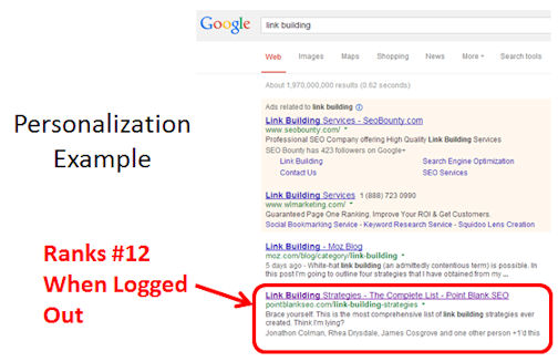 google-personalization-example