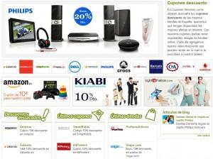 web de cupones