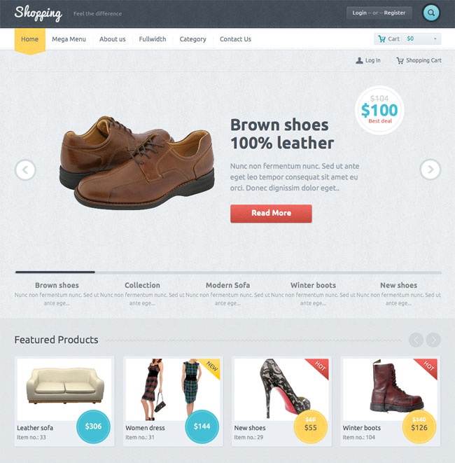 shopping-woocommerce-theme