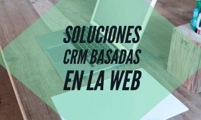 soluciones crm basadas en la web